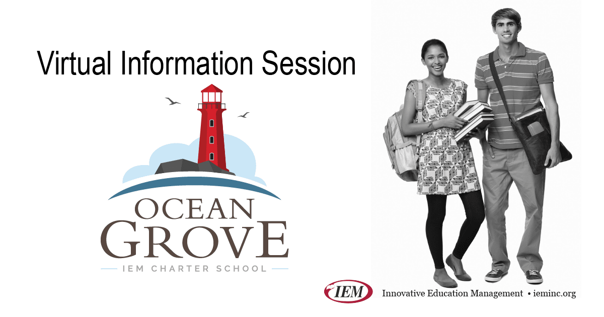 Virtual Informational Sessions - Ocean Grove