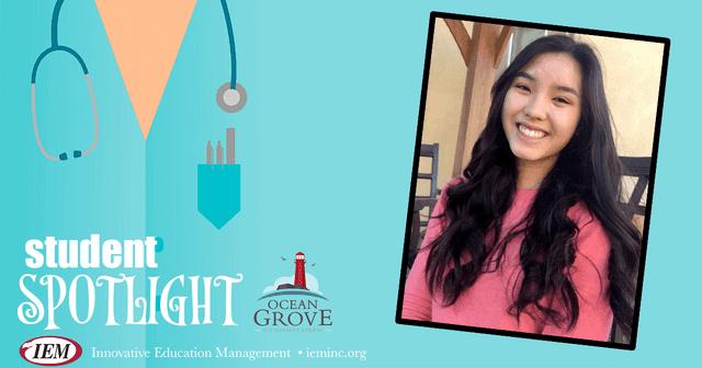Student Spotlight: Sophine L.