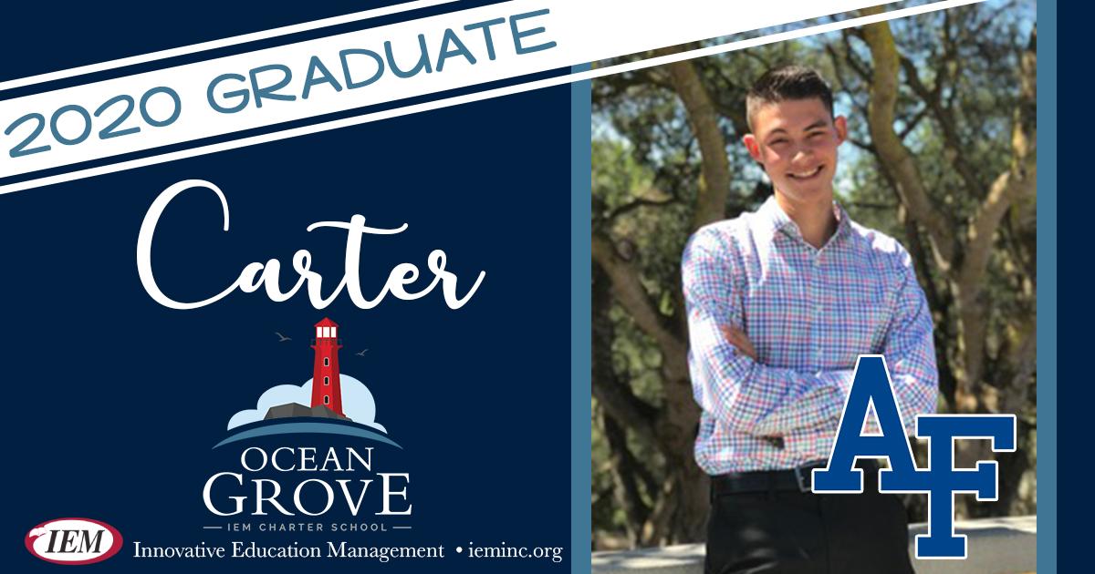 Graduate Spotlight: Carter M.