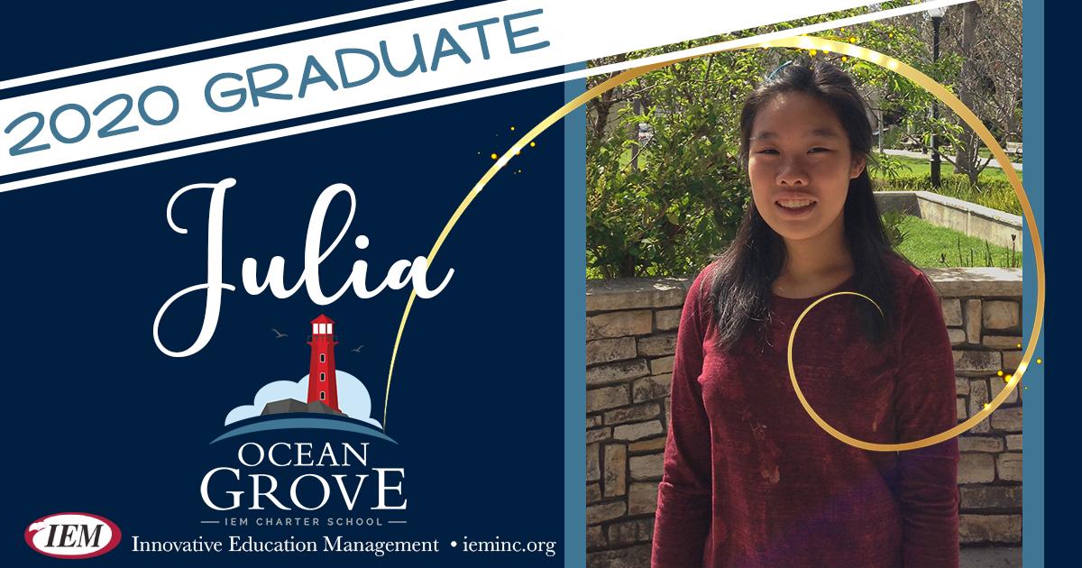Graduate Spotlight: Julia O.