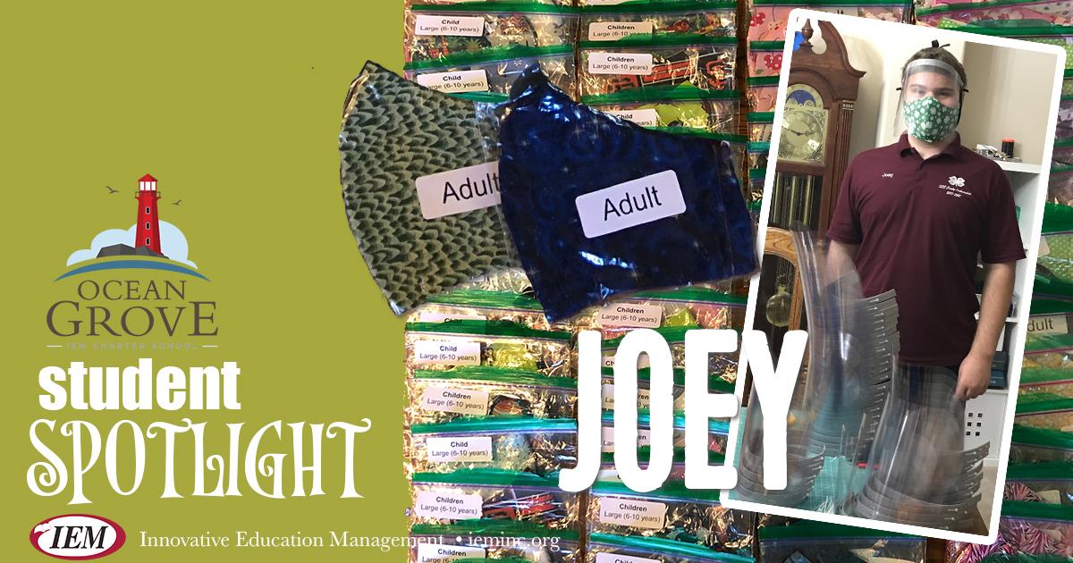Student Spotlight: Joey J.