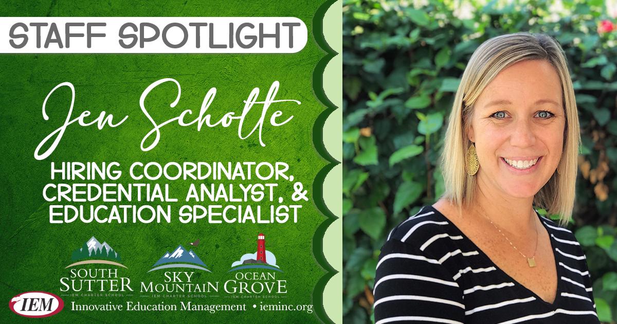 Employee Spotlight: Jen Scholte