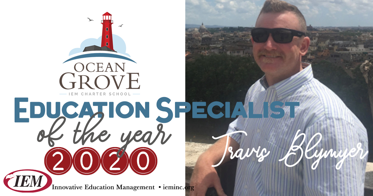 Education Specialist of the Year 2020: Travis Blymyer