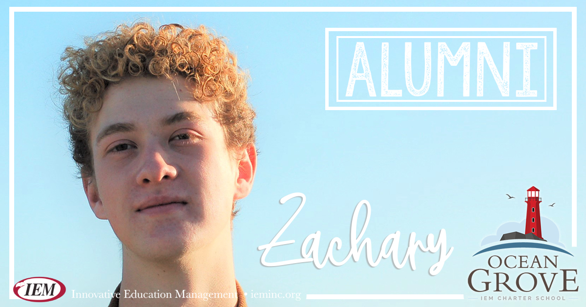 Graduate Spotlight: Zachary B.