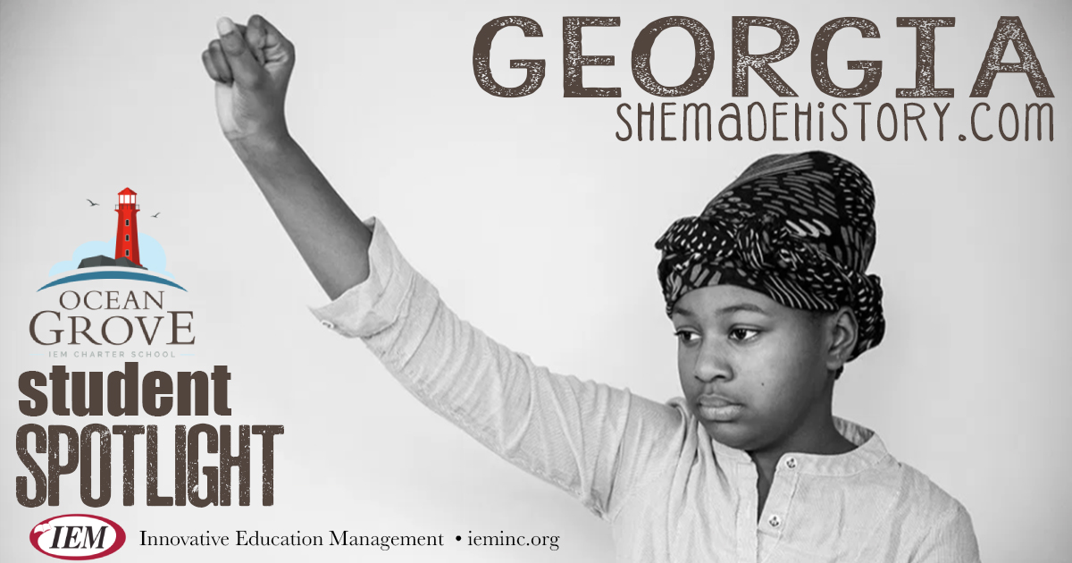 Student Spotlight:  Georgia M.