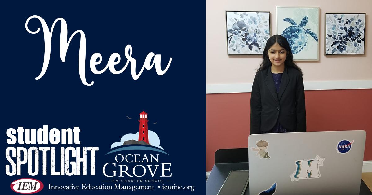 Student Spotlight: Meera K.