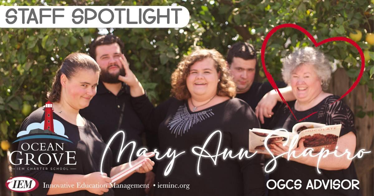 Staff Spotlight: Mary Ann Shapiro