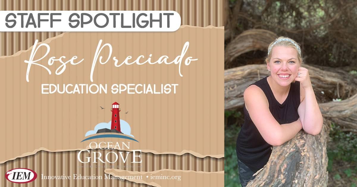 Staff Spotlight: Rose Preciado