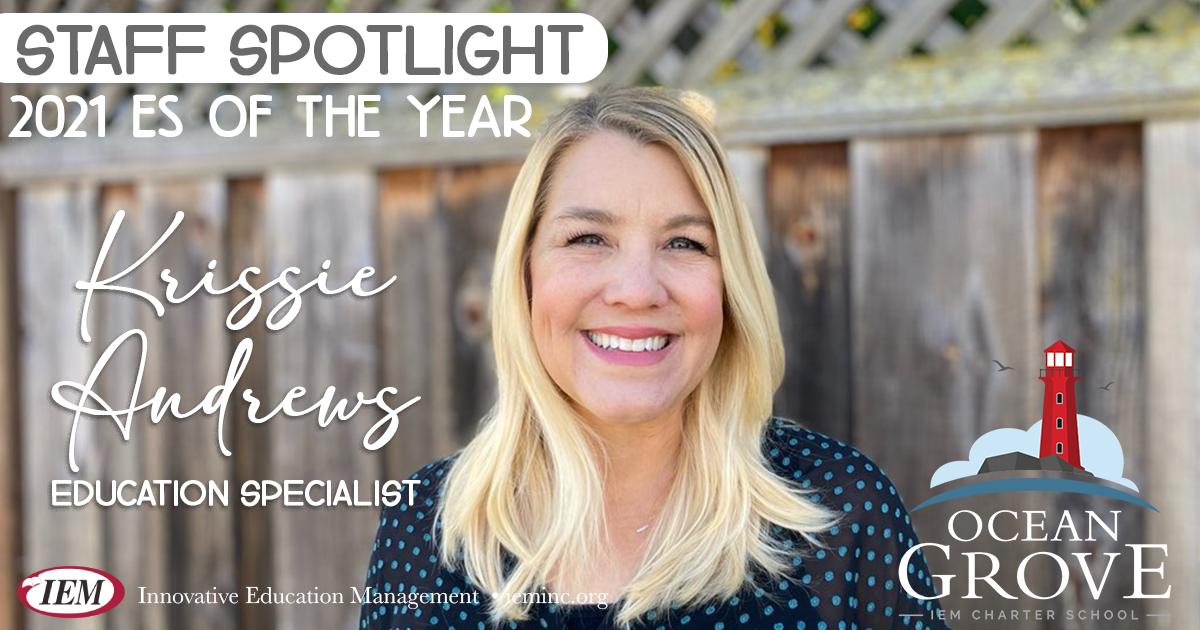 Staff Spotlight: Krissie Andrews
