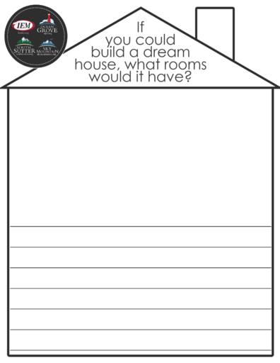 Build a House write & draw