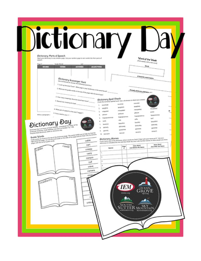 Dictionary Day (10/16)