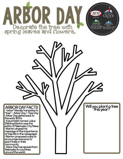 Arbor Day (April)