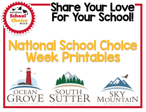 National School Choice Week Packet (1/24-1/30/21)